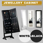 Mirror Jewelry Cabinet Armoire for Mirror Rings, Necklaces, Bracelets Wall Mount