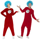 SALE 'Thing 1 or Thing 2' - Smiffy's Ladies Mens Dr Seuss Fancy Dress Costume