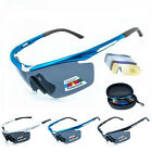 SAHOO Sport Cycling Glasses Eyewear Bike Goggles Fishing Sunglasses UV400 5 Lens