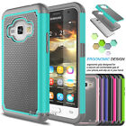 Hybrid Shockproof Armor Hard Case Cover For Samsung Galaxy Express 3 / Luna 2016