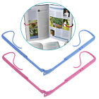 Foldable Bookend Storage Bookshelf Holders Racks Book Clip Reader Tool Office