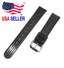 19mm SOFT Rubber Waffle Watch Band for Vintage Seiko 6105 6217 6159 Diver Watch