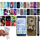 For Huawei Honor 8 Art Design TPU Soft SILICONE Rubber Case Phone Cover + Pen