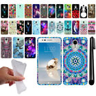 For LG Aristo MS210 LV3 K8 (2017) Art Design TPU Soft SILICONE Case Cover + Pen