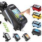 """ROSWHEEL Cycling Bag Front Tube Frame Bike Phone Case For Phone 4.2"""" 5.2"""" 5.7"""""""