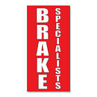 Brake Specialists Style 2  DECAL STICKER Retail Store Sign $9.49 USD