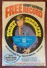 Vintage 1970s BOBBY SHERMAN RECORD #5 From POST CEREAL BOX Not Yet Cut Out VG