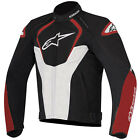 Alpinestars T-Jaws Waterproof Textile Jacket - Black / White / Red