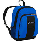 Everest Backpack with Front & Side Pockets 13 Colors Everyday Backpack NEW