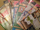 Tattered Lace Die craft - MAGAZINES - Issues 1 - 20 each with a FREE Die - NEW
