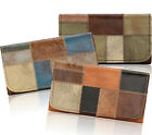 New! American West® Groovy Soul, All Leather Tri-fold Wallet