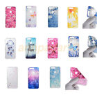 Patterned Ultra Slim Rubber Soft TPU Silicone Back Case Cover For Huawei Phone