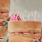 Wooden Wedding Cake Topper Mr & Mrs Gay Wedding 3 designs Ginger Ray