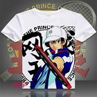 The Prince of Tennis Ryoma Echizen Boys/men 100% Cotton T-shirt Tee Tops Costume