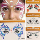 Eye Rock Rhinestone Crystal Eye Tattoo/Eyeliner-Sticker Temporary Tattoo Beauty $1.49 USD