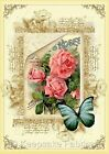Seneca Ponds Roses Butterfly Quilt Block Multi Szs FrEE ShiPPinG WoRld WiDE (S5