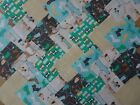 PAW PALS DOGS ~ COTTON FABRIC PATCHWORK SQUARES PIECES CHARM PACK 4 5 INCH