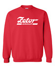 Zetor Proxima Tractor Red Crystal Heavyweight Sweatshirt New All Sizes S - XXL