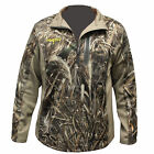 Rogers Logo Covert Fleece Quarter Zip Jacket  in Realtree Max 5 Camo