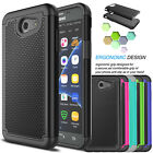 For Samsung Galaxy J3 Emerge 2017 Hybrid Shockproof Armor Impact Hard Case Cover