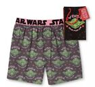 NWT Men's Star Wars YODA Gray Valentine Boxers w/Gift Bag ~Sizes S or M