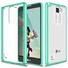 LG G Stylo 2 / Stylus 2 Plus Clear Case Hybrid Shockproof TPU Bumper Phone Cover
