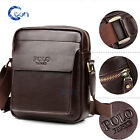 Men Travel Leather Messenger Shoulder Bag Crossbody Handbag Small Bag