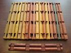 """Vintage Lincoln Logs HUGE Lot 20 Extra Long 10 1 2"""" Logs 4 Notch Both Styles"""