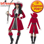 CA199 Authentic Deluxe Pirate Wench Buccaneer High Seas Dress Up Womens Costume