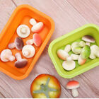 Outdoor Silicone Collapsible Lunch Boxes Food Fruit Storage Box Tool 4Pcs/Kit