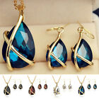 1 Set Stylish Women Girl Earring Necklace Pendent Chain Earrings Jewelry Gifts