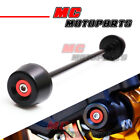 Red BOME CNC Front Axle Fork Crash Sliders For MV Agusta F3 675 12 13 14