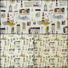 Prestigious Seaside Beachcomber Designer Curtain Fabric