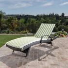 Savana Outdoor Wicker Lounge with Water Resistant Cushion