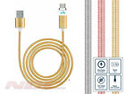 Strong Braided Magnetic Micro-USB Charger Charging/Data Cable for Samsung HTC …