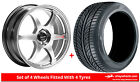 Alloy Wheels & Tyres 17'' Lenso Spec C For Lancia Thema [Mk1] 84-92