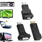1080P DP DISPLAY PORT MALE TO DVI/HDMI/VGA FEMALE ADAPTER FOR PC LAPTOP CLASSY