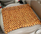 1Pc Natural Massage Wood Beads Car Seat Cushion Auto Car Healthy Home Chair Cove