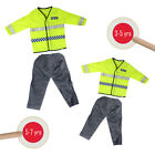 Police Officer Uniform Kids Fancy Dress Outfit Childrens Boys Role Play Toy Cop
