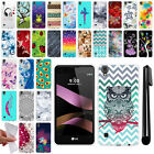 "For LG Tribute HD LS676 X Style 5"" L53BL TPU SILICONE Case Phone Cover + Pen"