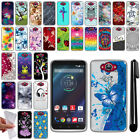 For Motorola Droid Turbo XT1254 TPU SILICONE Soft Protective Case Cover + Pen