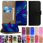 Case Cover For Huawei P20 Lite Pro Plus P Smart/Honor 9 Lit Wallet Leather Stand