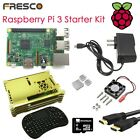 Raspberry Pi 3 Educational Programming Kit Gold Case i8 keyboard Ubuntu Heat