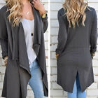Girl Lady Womens Knitted Open Cardigan Jumper Long Sleeve Shawl Sweater Coat Top