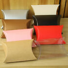 50pcs Pillow favor Box Wedding Anniversary Party Favour Gift Candy Boxes Pouch