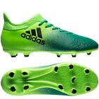 adidas X 16.3 FG 2017 Soccer Shoes Cleats Bright Green / Teal  Kids - Youth New