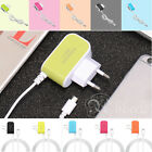 Candy Color USB2.0 3 Port Travel Charger for iPad iPhones iPods Smart Phones
