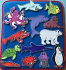 Commotion in the Ocean Felt / Flannel Board Set . Sea Creatures