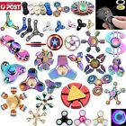 3D Fidget Hand Spinner Finger Toys EDC Focus Stress Reliever For Kids Adults AU