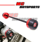 Front Fork Axle Crash Sliders Red /RD For Ducati 748 / 916 / 996 / 998 S / R